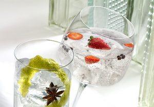 Vasos para combinados Dkristal