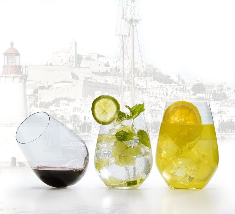 Colección de vasos Ibiza - DKRISTAL