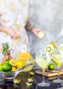 Bebidas refrescantes de verano